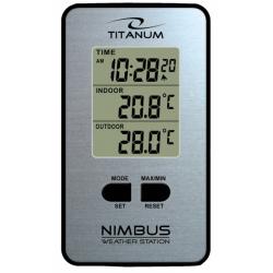 Stacja pogody termometr zegar NIMBUS TWS101 Espe