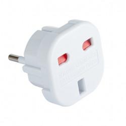 Adapter podróżny wtyk PL - gniazdo UK LIBOX LB0036