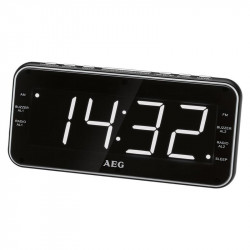 Radiobudzik AEG MRC4157 z zegarem