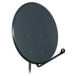 Antena satelitarna czasza 100cm stal szara A9665 FAMAVAL DIPOL