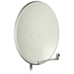 Antena satelitarna czasza 90cm stal biała COR-900 A9607 DIPOL