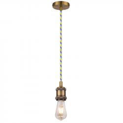 Lampa VOLTA-01 zwis E27 ant. złoto C04-VOLTA-01-AZ ZEXT