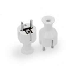 Wtyczka prosta UniSchuko 16A WT-40/W biała Orno