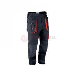 Spodnie robocze rozm.S czarne YT-8025 YATO