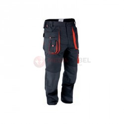 Spodnie robocze rozm.M czarne YT-8026 YATO