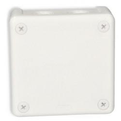 Puszka biała b/zacisk 90x90x25 n/t 042-01 Viplast