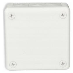 Puszka biała n/t 90x90x30 z gumami 041-01 ViPlast