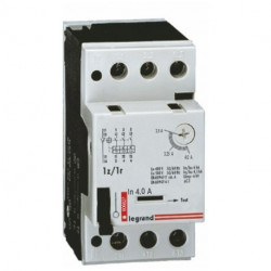 Wyłącznik silnikowy 3P 1,5kW 2,5-4A 1R/1Z 606827 L