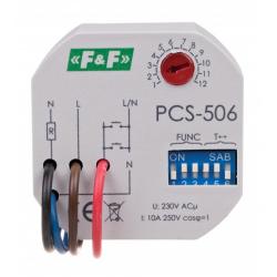 Przekaźnik czasowy 8F Start 10A 1Z PCS-506 F&F