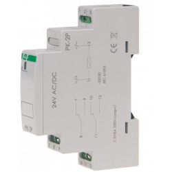 Przekaźnik elektromagnetyczny PK-2P24V 2P 8A F&F