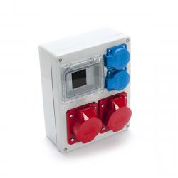 Zestaw R-BOX VR-24 4-S 2x16/5 2x250V 962-01 Viplast