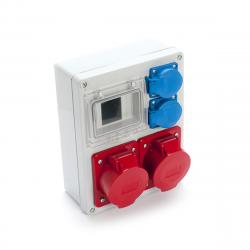 Zestaw R-BOX VR-24 4-S 2x32/5 2x250V 962-02 Viplast