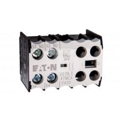Styk pomocniczy 2Z montażowyczołowy 20DILE XTMCX EATON