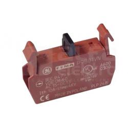 Blok styków pomocniczych do ramki 1R P9B01VN 187001 GE