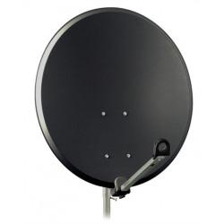 Antena Satelitarna czasza SAT 80cm grafit stal A9654 DIPOL