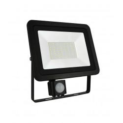 Naświetlacz Noctis LUX-2 LED 50W NW +sensor black