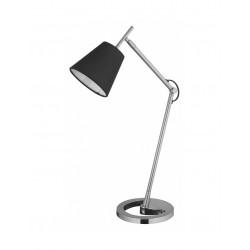 Lampka biurkowa LILY E14 czarny/srebrny ZEXT