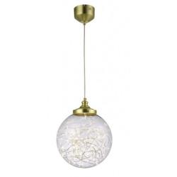 Lampa wisząca PAVO 14W LED złoto AC-PAVO-14W-40-GD ZEXT
