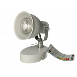 Lampa Kinkiet NOVUM-1WH biała GU10 Vitalux