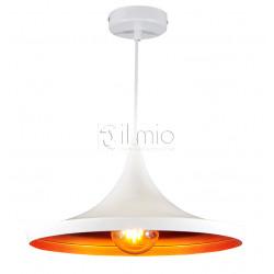Lampa MODERN P306-1A white/gold zwis E27 IL MIO