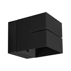 Lampa kinkiet ELTON G9 black 03957 Struhm