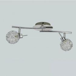 Lampa BERGEN-2 chrome 2xG9 28W Vitalux