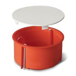 Puszka okrągła pomarańczowa 80mm podtynkowa PO-80 Nr 0209 Elektro-plast