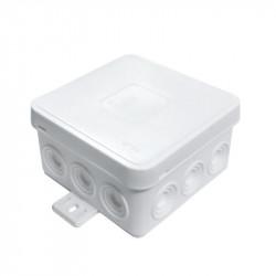 Puszka biała n/t 75x75x41 IP54 035-01 ViPlast