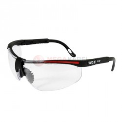 Okulary ochronne bezbarwne oprawki cz YATO YT-7363