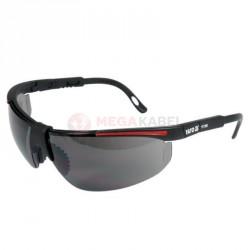 Okulary ochronne szare oprawki czarne YATO YT-7368