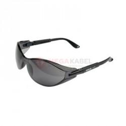Okulary ochronne szare oprawki czarne YATO YT-7374