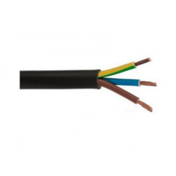 Przewód przyłączeniowy 936-35K OW 3x1,5 guma 3m Viplast