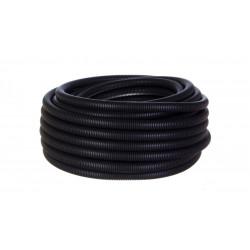 Rura karbowana odporna na UV 40/32/UV czarna 50 metrów TTPLAST