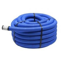 Rura karbowana arota 40/32 FI 40 niebieska 50 metrów TTPLAST