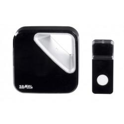Dzwonek bazprzewodowy bateryjny ZUMBA ST-390 Black Zamel