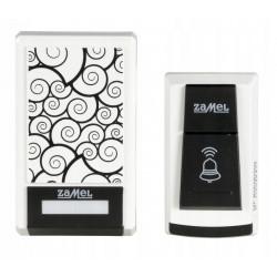 Dzwonek bezprzewodowy bateryjny TANGO ST-910 W/B Zamel