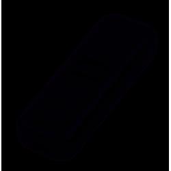 Przełącznik przelotowy czarny 2A 250V PRK0069 SCHNEIDER