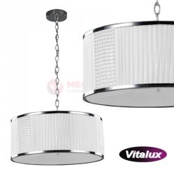Lampa CLAIRE zwis III biała 3xE27 Vitalux