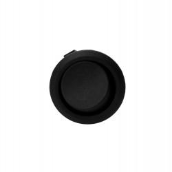 Wyłącznik kołyskowy okrągły R13 czarny ORNO