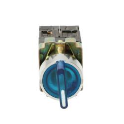 Przełącznik podświetlany LED niebieski 3A 400V BK5665K TRACON