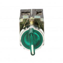 Przełącznik podświetlany LED zielony 3A 450V BK5365Z TRACON
