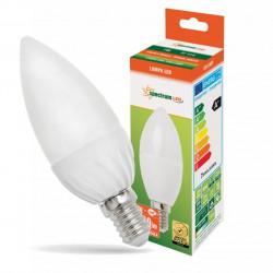 Żarówka LED E14 świecowa 8W 230V ciepła WW Spectru