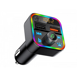Transmiter FM Bluetooth 5+QC3.0 RGB 74-164 Blow