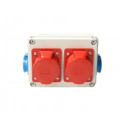 Rozdzielnia Vz-1Box 2x32-5 2x250V 951-07 Viplast