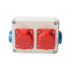Zestaw R-BOX VZ-19 2x16/5 2x250V 951-06 Viplast