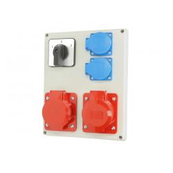 Zestaw R-BOX VZ-24 L-P 2x16-5 2x250V 952-33 Viplast