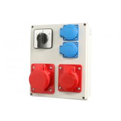 Zestaw R-BOX L-P 32-4,16-4 2x250V 952-85 Viplast