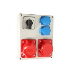 Zestaw R-BOX VZ-24 L-P 2x32/4 2x250V 952-84 Viplast