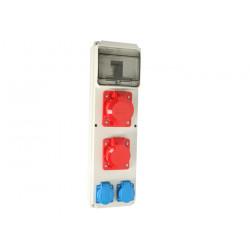 Zestaw R-BOX VR-UL 6M 32/5 16/5 2x250V 964-08 Viplast