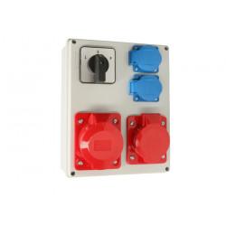 Zestaw R-BOX VZ-24 L-P 32/5 16/5 2x250V 952-35 VIPLAST